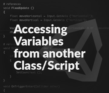 Accessing Variables from another Class/Script